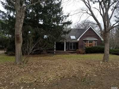 Center Moriches Single Family Home For Sale: 144 Old Neck Rd