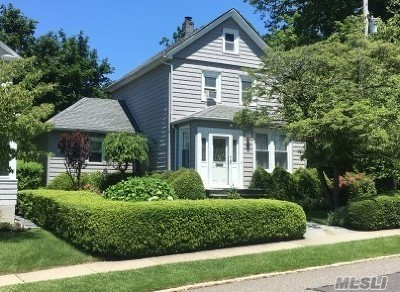 Manhasset Single Family Home For Sale: 37 4th St