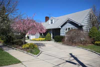 Bethpage Single Family Home For Sale: 21 N Sheridan Ave