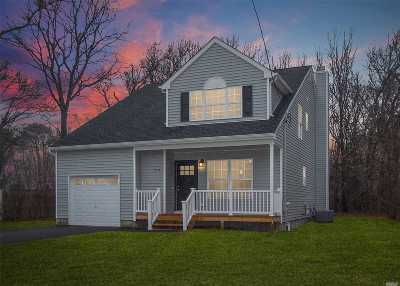 Mastic Single Family Home For Sale: 119 Somerset Rd