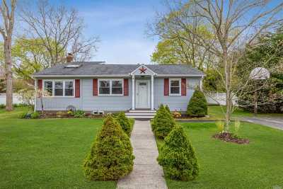 Hampton Bays Single Family Home For Sale: 4 Union St