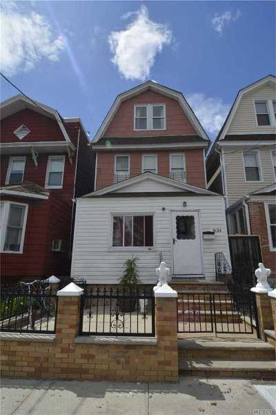 Woodhaven Single Family Home For Sale: 91-24 89 St