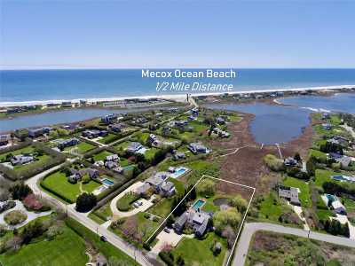 Bridgehampton Single Family Home For Sale: 288 Jobs Ln