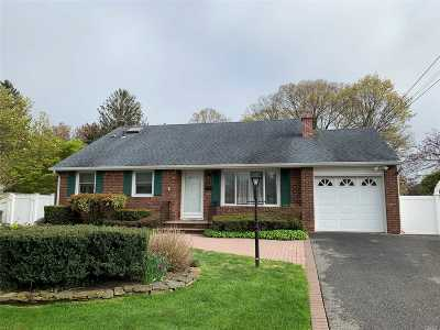 West Islip Single Family Home For Sale: 796 Pine Ave