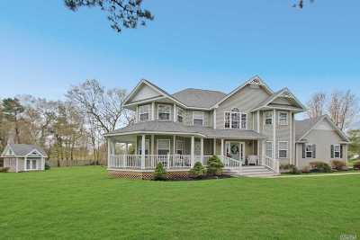 Manorville Single Family Home For Sale: 16 Crest Hollow Ln