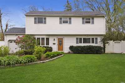 Centereach Single Family Home For Sale: 15 Woods Ln