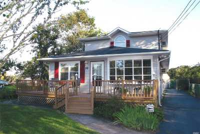 Mastic Beach Single Family Home For Sale: 50 Shore Dr