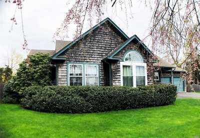 Hampton Bays Single Family Home For Sale: 157 Springville Rd
