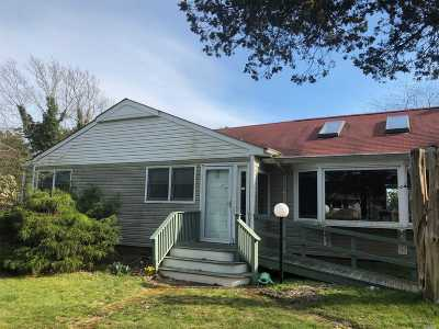 Hampton Bays Single Family Home For Sale: 14 E Point Ln