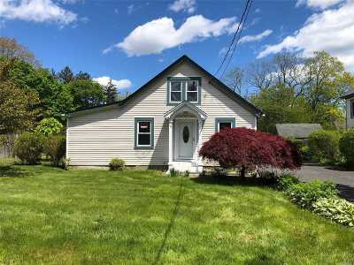 Sayville Single Family Home For Sale: 195 Lincoln Ave