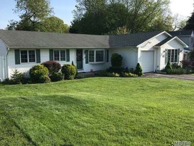 Selden Single Family Home For Sale: 10 Janice Ln