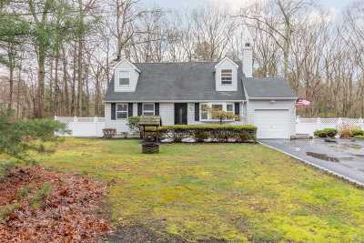 Ridge Single Family Home For Sale: 38 Pond Ln