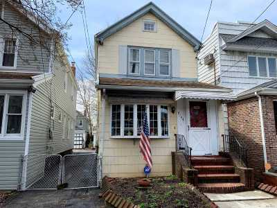 Woodhaven Single Family Home For Sale: 91-44 85th St