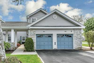 Moriches Condo/Townhouse For Sale: 511 Highland Ct