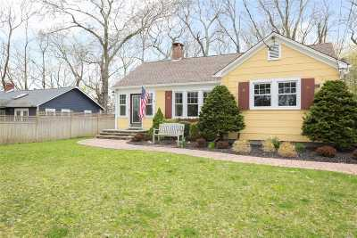 Cutchogue Single Family Home For Sale: 1240 West Rd