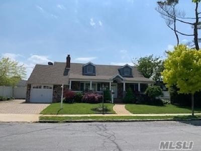 Massapequa Single Family Home For Sale: 1 Fairwater Ave