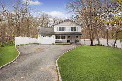 Moriches Single Family Home For Sale: 34 Crystal Beach Blvd