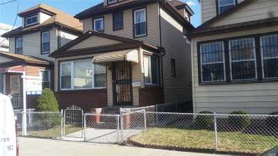 Elmhurst Single Family Home For Sale: 94-20 52 Ave