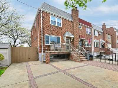 Woodside Single Family Home For Sale: 51-52 65 St