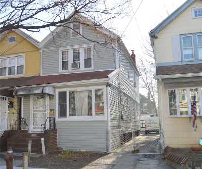 Woodhaven Single Family Home For Sale: 91-46 85th St