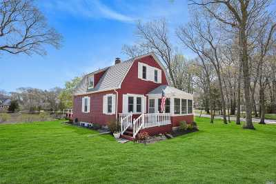 Cutchogue Single Family Home For Sale: 75 Broadwaters Dr