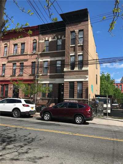 Brooklyn Multi Family Home For Sale: 1582 Dekalb Ave
