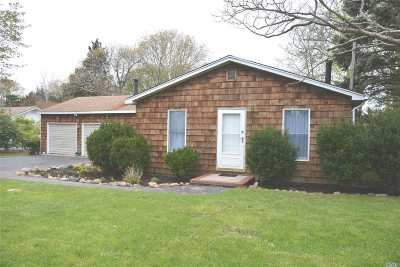 Jamesport Single Family Home For Sale: 84 4th St