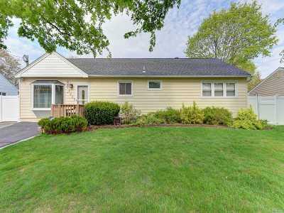 Centereach Single Family Home For Sale: 162 Mark Tree Rd