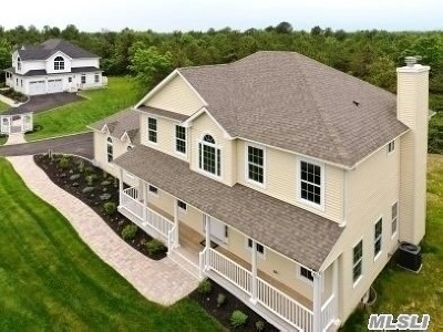 Manorville Single Family Home For Sale: Tbb Woodland Ave