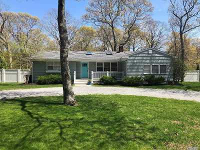 E. Quogue Single Family Home For Sale: 17 Josiah Foster Path