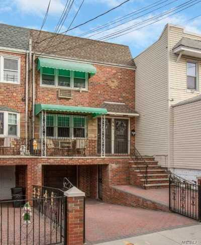 Middle Village Multi Family Home For Sale: 66-43a 75th St