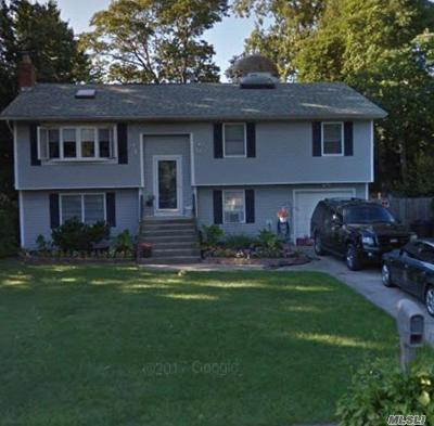 Center Moriches NY Single Family Home For Sale: $299,999