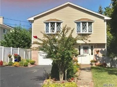 Copiague Single Family Home For Sale: 315 Greenlawn Ter