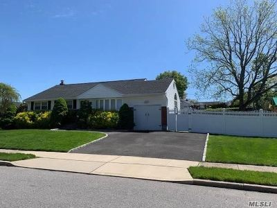 Plainview Single Family Home For Sale: 59 Stephen Dr