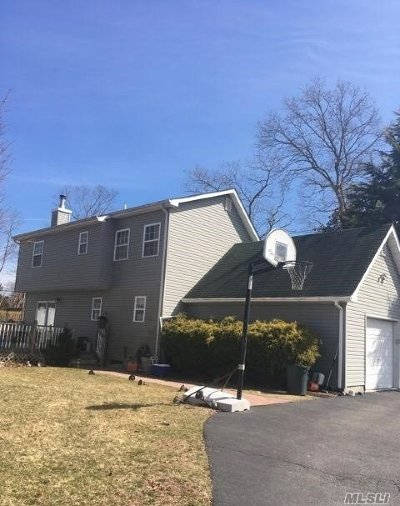 East Moriches Single Family Home For Sale: 36 Miller Ave