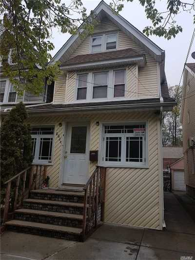 Woodhaven Single Family Home For Sale: 8627 98th St