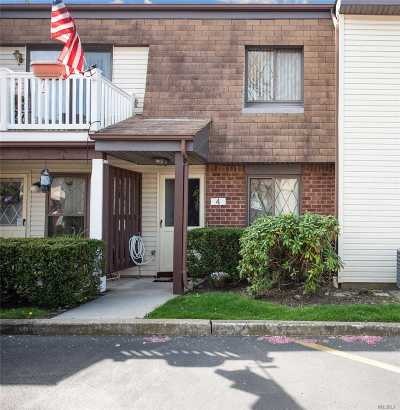 Copiague Condo/Townhouse For Sale: 4 W Cambridge Dr