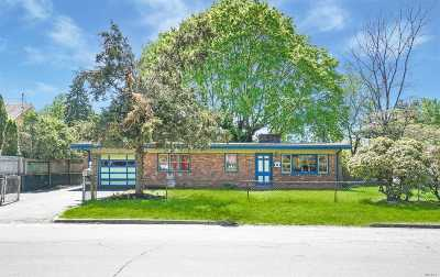 Huntington Sta Single Family Home For Sale: 66 W 10th St