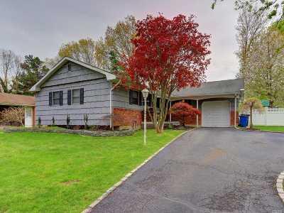 Nesconset Single Family Home For Sale: 33 Robinhood Ct