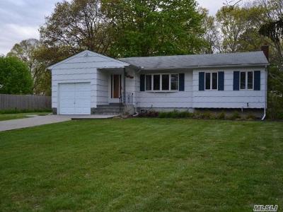 Ronkonkoma Single Family Home For Sale: 1828 Julia Goldbach Ave