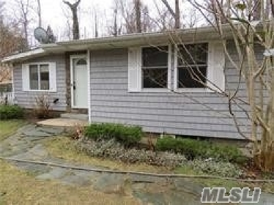 Single Family Home For Sale: 116 Woodhull Landing Rd