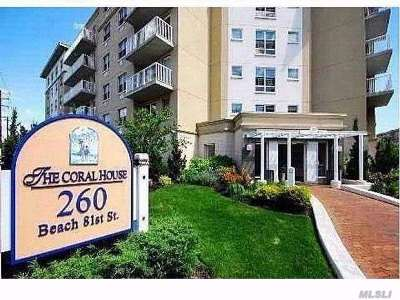 Queens County Condo/Townhouse For Sale: 260 Beach 81st St #1R