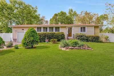 E. Setauket Single Family Home For Sale: 287 Sheep Pasture Rd