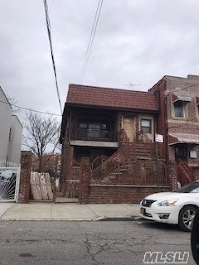 Brooklyn Multi Family Home For Sale: 737 Jerome St