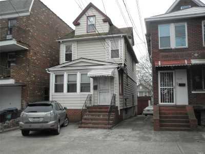 Elmhurst Multi Family Home For Sale: 90-40 54 Ave