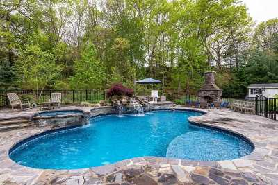 Dix Hills Single Family Home For Sale: 12 Hunting Hollow Ct