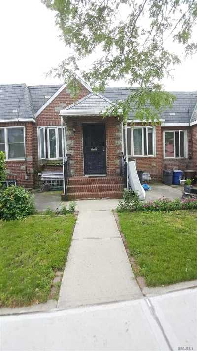 Ozone Park Single Family Home For Sale: 85-08 Dumont Ave
