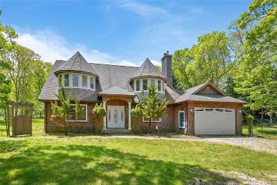 East Hampton Single Family Home For Sale: 198 Three Mile Harbo Rd