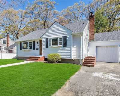 Amityville Single Family Home For Sale: 61 Lafayette Ave
