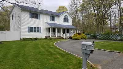 Mastic Single Family Home For Sale: 29 Kamio Dr